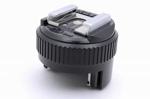 Nikon AS-4 Gun Coupler Flash Unit Hot Shoe for F3 [Near Mint]