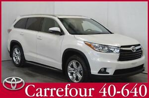 2014 Toyota Highlander Limited GPS+Cuir+Toit Ouvrant 7 Passagers