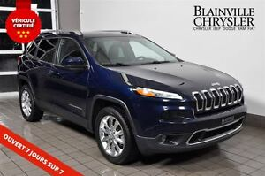 2015 Jeep Cherokee Limited 4X4 CUIR - TOIT PANO