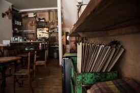 Kitchen Porter needed to join our small team at Trangallan on Newington Green
