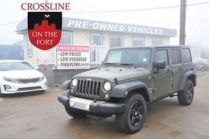 2015 Jeep WRANGLER UNLIMITED ONLY 17000 KM'S - JUNE SPECIAL!!