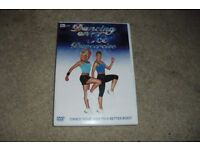 NEW EXERCISE DVD WITH THE STARS OF DANCING ON ICE