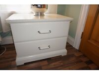 Ikea Chest of drawers bedroom bedside cabinet table storage furniture white french wardrobe bed