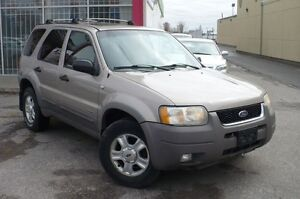 2001 Ford Escape XLT V6 4X4 LEATHER,SUNROOF