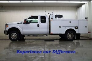 2013 Ford F-350 S/CAB XLT 4X4 SERVICE TRUCK