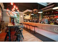 Assistant General Manager required for busy branded Bar & Kitchen in Edinburgh City Centre