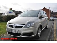 VAUXHALL ZAFIRA 1.8 I 16V CLUB 5 DR PETROL ( 1 OWNER FROM NEW,2 KEYS)