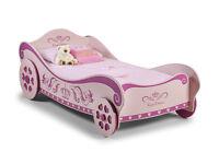 New Julian Bowen Princess Charlotte Carriage Bed, Pink - Please Read