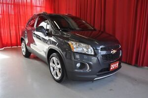 2015 Chevrolet Trax LTZ AWD SUNROOF - one owner