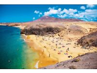 5 return flight tickets Edinburgh - Lanzarote Island 06.OCT - 16.OCT