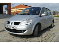 Scenic LHD 2007 1.6 petrol low mileage, nice condtion