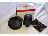 Canon EF 100mm f/2.8 Macro USM lens....