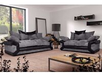 BRAND NEW RIO GRANDE 3+2 OR CORNER FABRIC SOFA SUITE £460.00