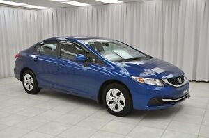 2013 Honda Civic LX SEDAN w/ BLUETOOTH, HEATED SEATS, A/C & CRUI