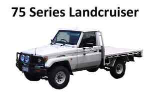 75 series Landcruiser. Flat tray or ute Mornington Clarence Area Preview
