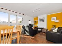 Spacious three-bed maisonette with separate kitchen and living room in Victoria Park Village.