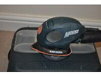 Black&Dacker Mouse Sander + Sanding Sheets. In great working condition !!!