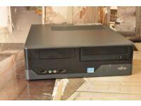 Fujitsu Esprimo E400 E85+, 320GB HDD, i3 (2nd gen), 4GB DDR3 RAM, Win10 Pro, MS Office