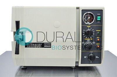 Tuttnauer 2340mk Autoclave Steam Sterilizer Fully Refurbished - 6 Month Warranty