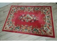 Vintage Rug (DELIVERY AVAILABLE)
