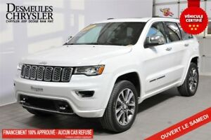 2018 Jeep Grand Cherokee Overland**CUIR**TOIT**GPS**SUSPENSION P