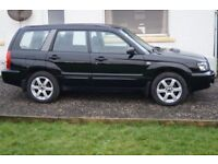 Subaru Forester 2.5XT 2005 manual gearbox, leather seats