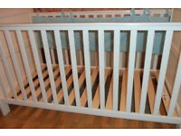 Variable Hight Cot Bed with side pads and Matress