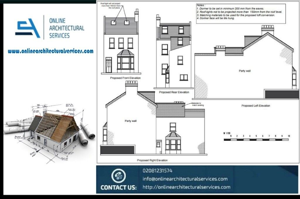 Planning Application from £295/architectural Services