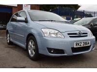 TOYOTA COROLLA 1.4 T3 COLOUR COLLECTION VVT-I 5d 92 BHP LONG MOT (blue) 2006