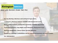 Commercial Law Solicitors for your Business - South East , East London M 07766229409