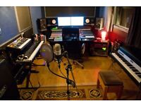 Rent Pro Music Space/Recording Studio/Rehearsal Room for Artist/Band/Producer/Engineer/Songwriter/VO