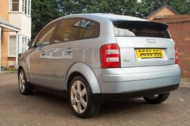 Audi A2 1.6 Petrol FSI SE 2003 Only 57k Miles, LEATHER, NEW CAMBELT, Climate/CD Blue