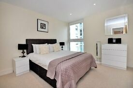LUXURY 1 BEDROOM FLAT- DENISON HOUSE E14- GYM & CONCIERGE- SOUTH QUAY CANARY WHARF- KP