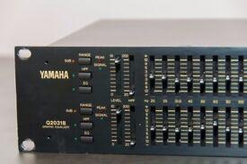Yamaha Q2031B / Graphic equalizer for studio and stage