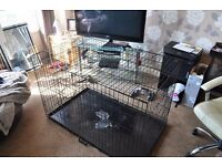 """X-Large Dog Crate Bed Cage.. 32"""" x 29"""" x 47"""""""