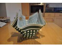Chance Glass Handkerchief Vase