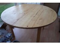 IKEA 'NORDEN' HUGE ROUND EXTENDABLE TABLE £10 - COLLECT TW2 AREA