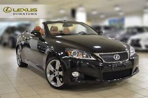 2012 Lexus IS350C NAVIGATION, LEATHER, NO ACCIDENT, CONVERTIBLE