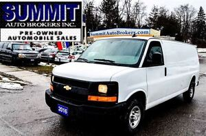 2016 Chevrolet Express 2500 2 PASSENGER | AC | POWER WINDOWS & L