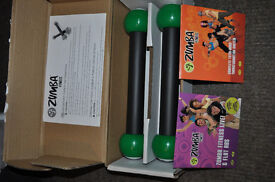 ZUMBA home fitness kit with toning sticks