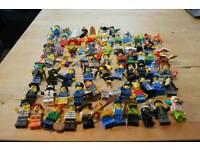 Lego mini figures mixed job lot