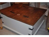 trunk coffee table storage