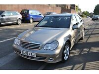 2006 MERCEDES C180K LEATHER 40K