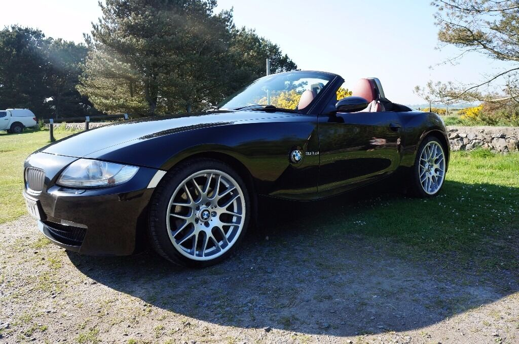 Bmw Z4 3 0 Si Convertible In Black 2007 In