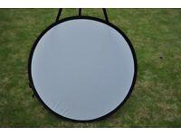 Portaflash Circular collapsible Reflector 80cm 5 in 1 studio lighting