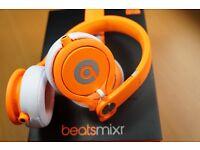 Beats by Dre - David Guetta Special Edition Mixr Neon Orange Headphones