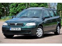 1999 Vauxhall Astra 1.6 i LS 5dr+ESTATE+JUST SERVICED+12 MONTHS MOT+READY TO DRIVE AWAY