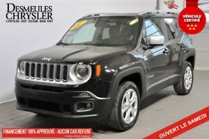 2017 Jeep Renegade LIMITED*CUIR*GPS*TOIT*AWD
