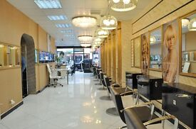 Unisex Salon in Kilburn High Road has a Beauty room to rent.