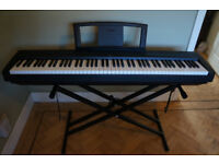 Yamaha P35 Digital Piano Full Size 88 weighted keys, excellent condition with stand & pedal